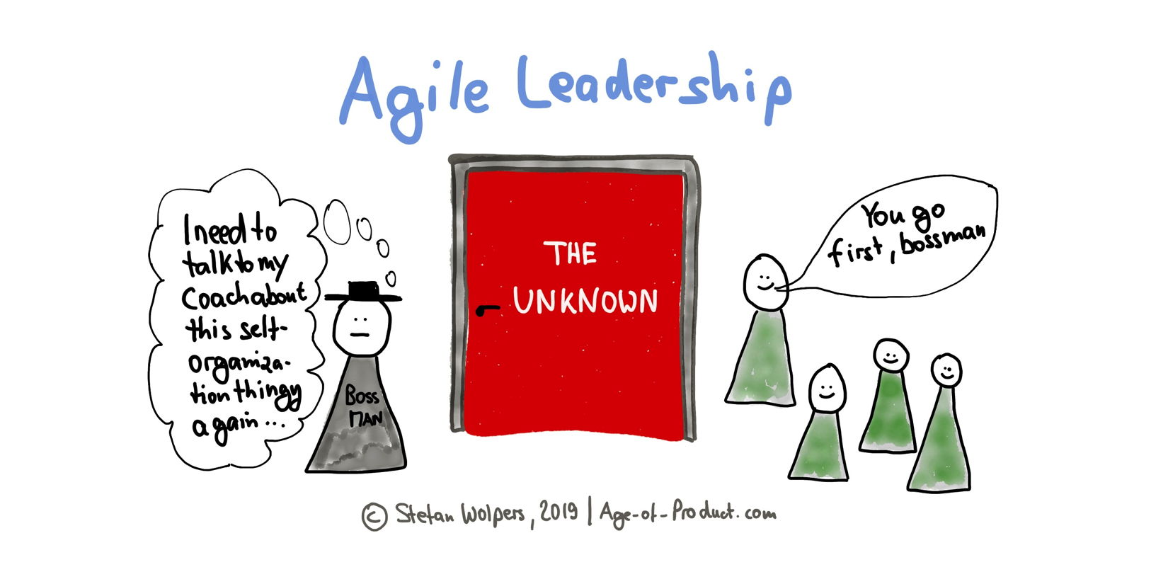 leadership in agile transformation